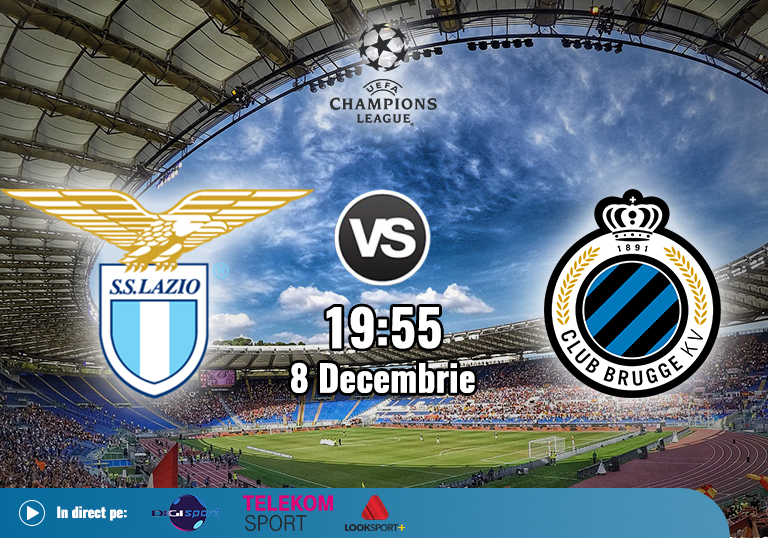 Lazio Brugge , Liga Campionilor , 2020