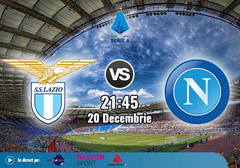 Lazio Napoli , Serie A , 2020