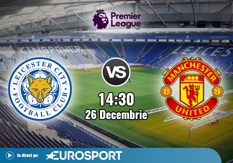 Leicester Man United , Premier League , 2020