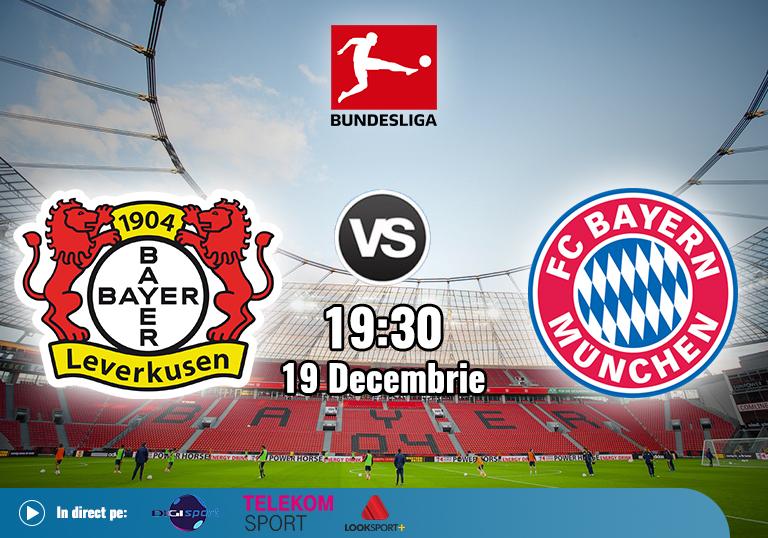 Leverkusen Bayern , Bundesliga , 2020