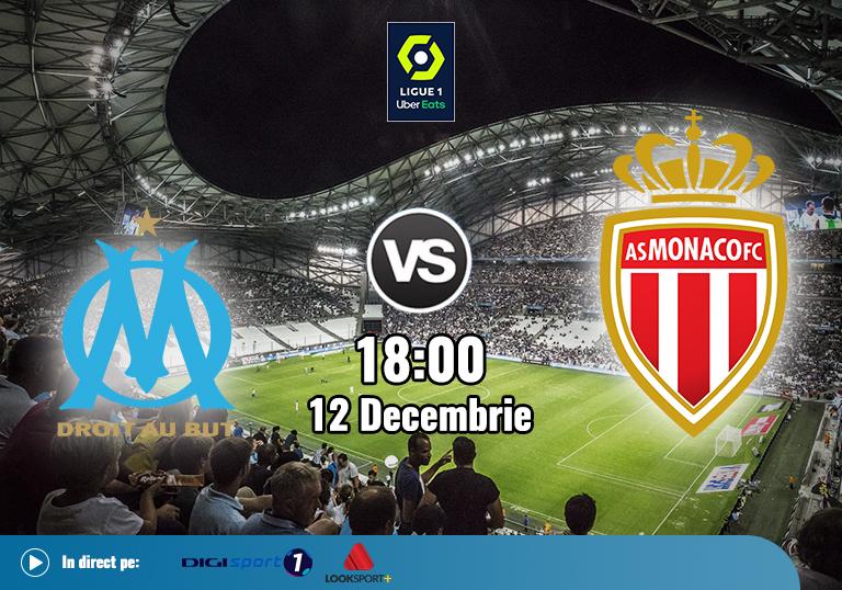 Marseille Monaco , Ligue 1 , 12.12.2020