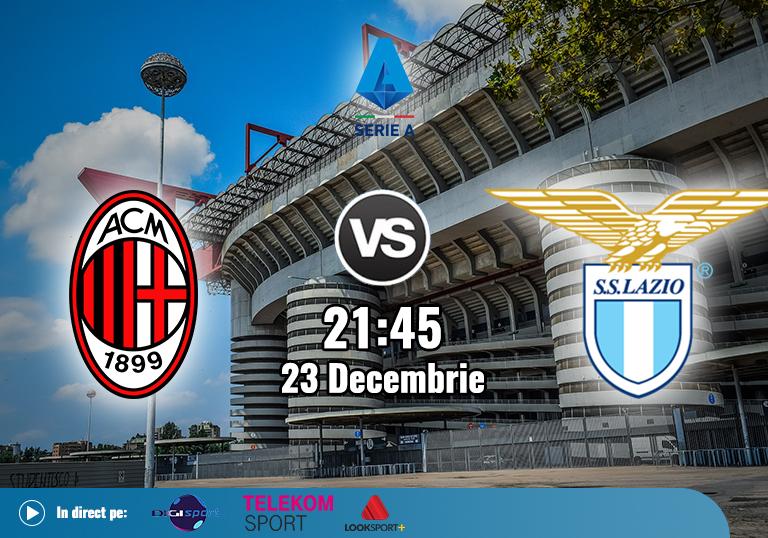 Milan Lazio , Serie A , 23.12.2020