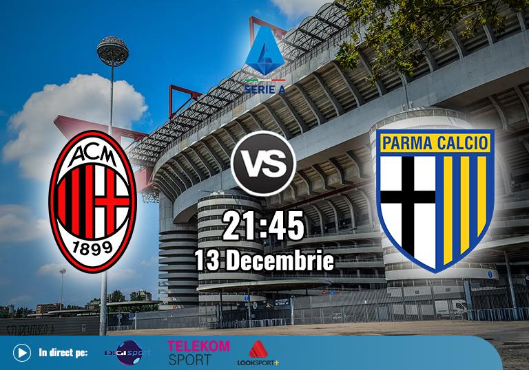 Milan Parma , Serie A , 2020