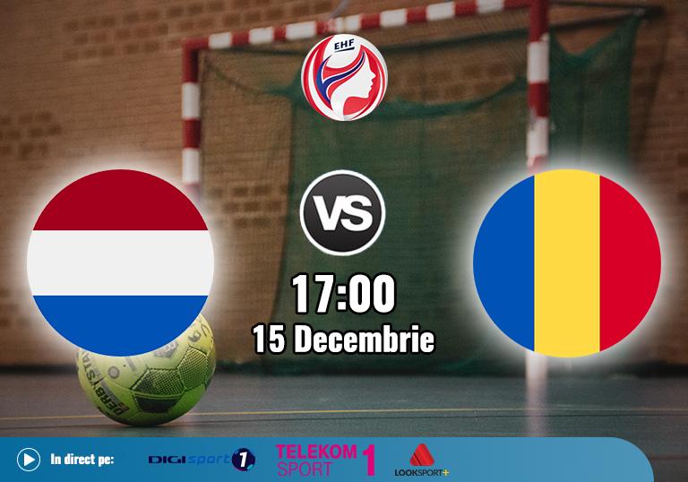 Olanda Romania , Handbal Euro 2020