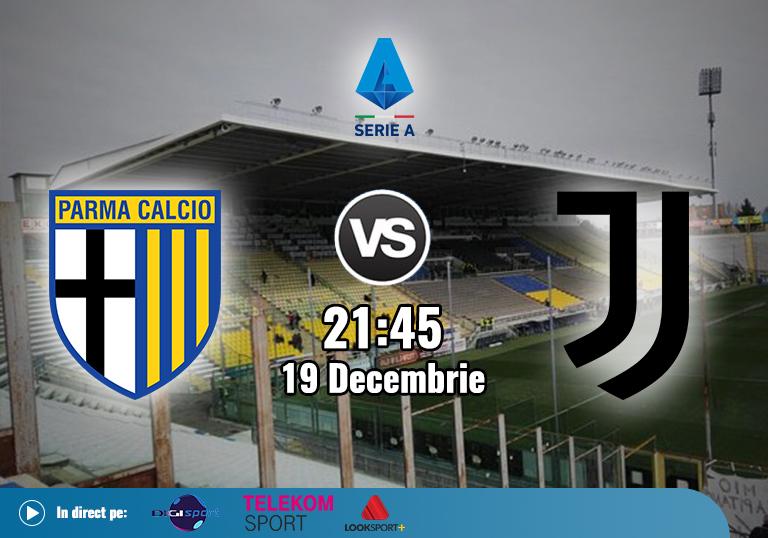 Parma vs Juventus , Serie A , 2020
