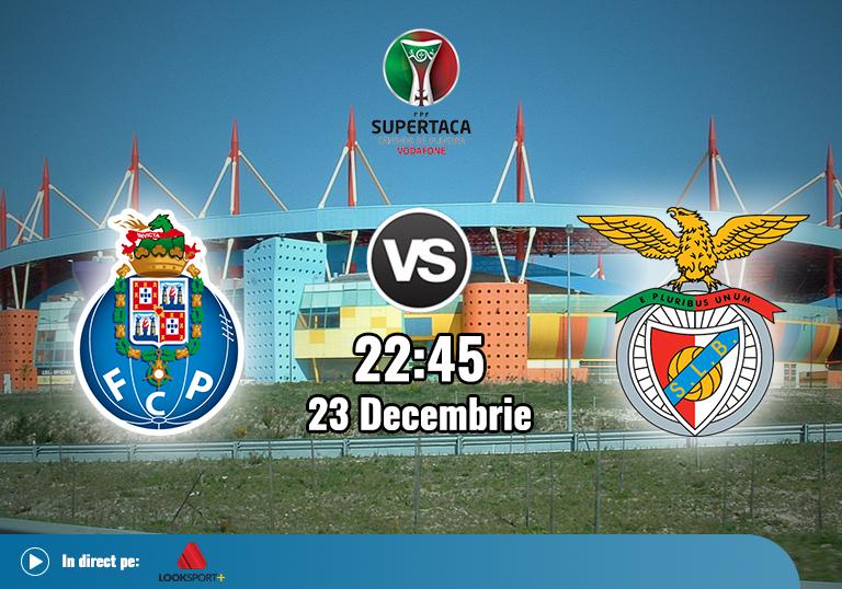 Porto Benfica , Supercupa Portugalei , 23.12.2020