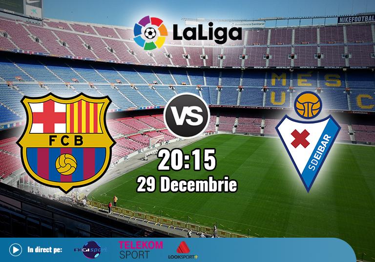 Barcelona Eibar , La Liga , 2020