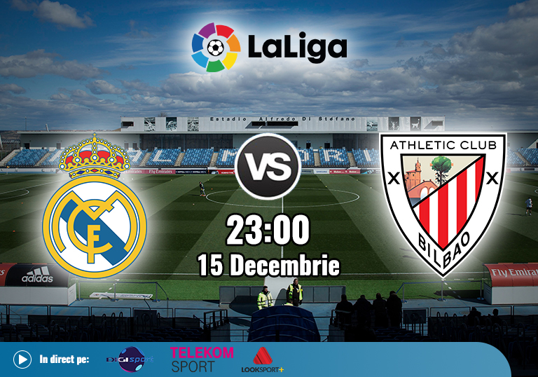 Real Madrid Ahtletic Bilbao , La Liga , 2020