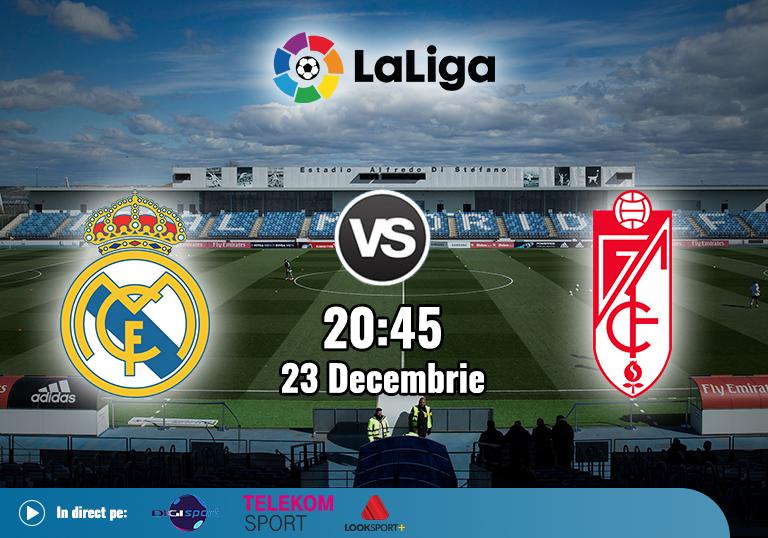 Real Madrid Granada , La Liga , 2020