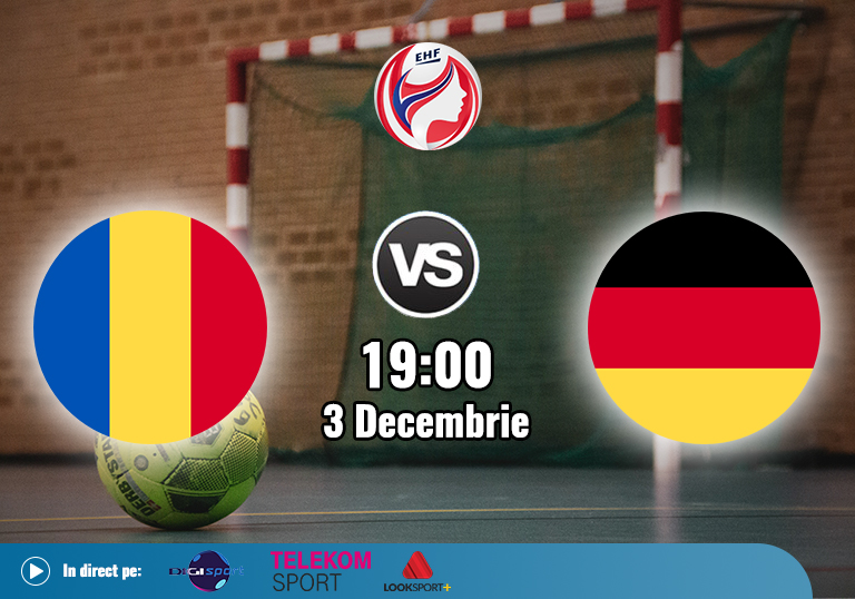 Romania Germania , Handbal Euro 2020