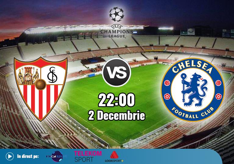 Sevilla Chelsea , Liga Campionilor , 2020