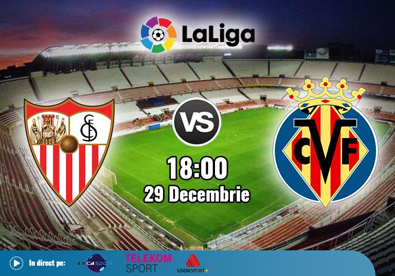 Sevilla Villarreal , La Liga , 2020