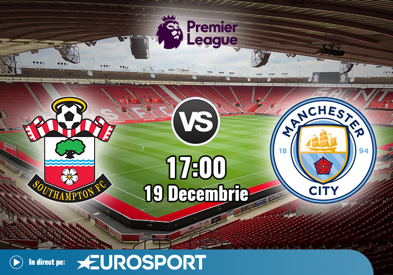 Southampton vs Manchester City , Premier League , 19.12.2020