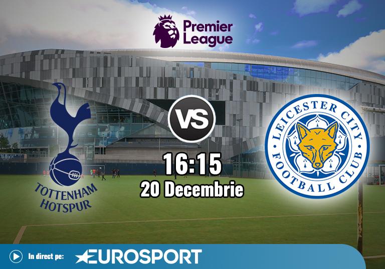 Tottenham Leicester , Premier League , 2020