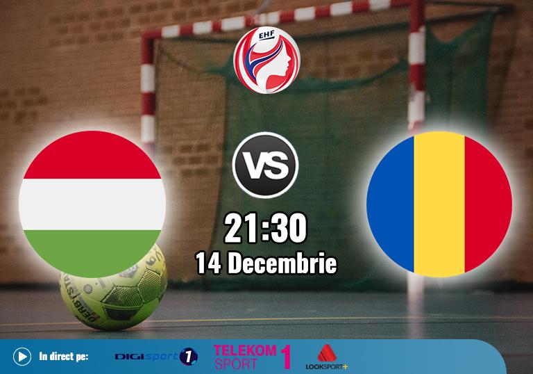 Ungaria Romania , Handbal Euro 2020