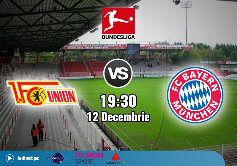 Union Berlin Bayern , Bundesliga , 12.12.2020
