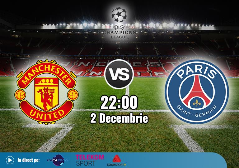 Manchester United PSG , Liga Campionilor , 2020