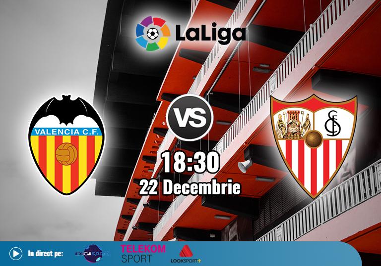 Valencia Sevilla , La Liga , 2020