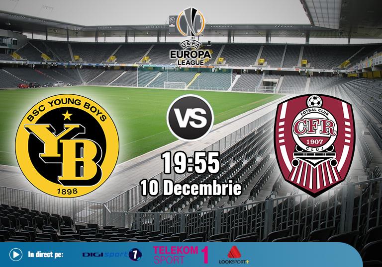 Young Boys CFR Cluj , Europa League , 2020