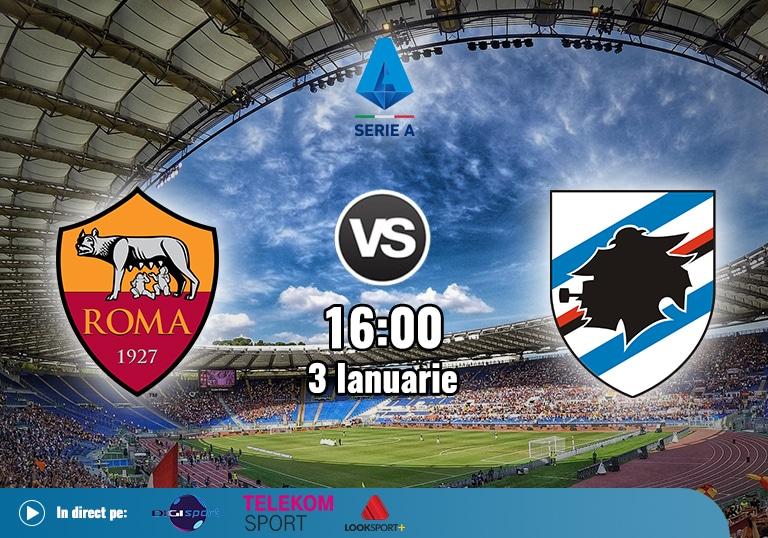 Roma Sampdoria , Serie A , 2021