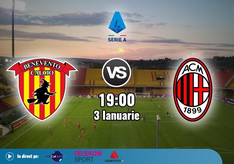 Benevento Milan , Serie A , 2021