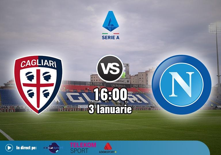 Cagliari Napoli , Serie A, 2021