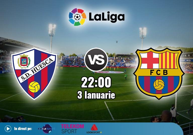 Huesca Barcelona , La Liga , 2021