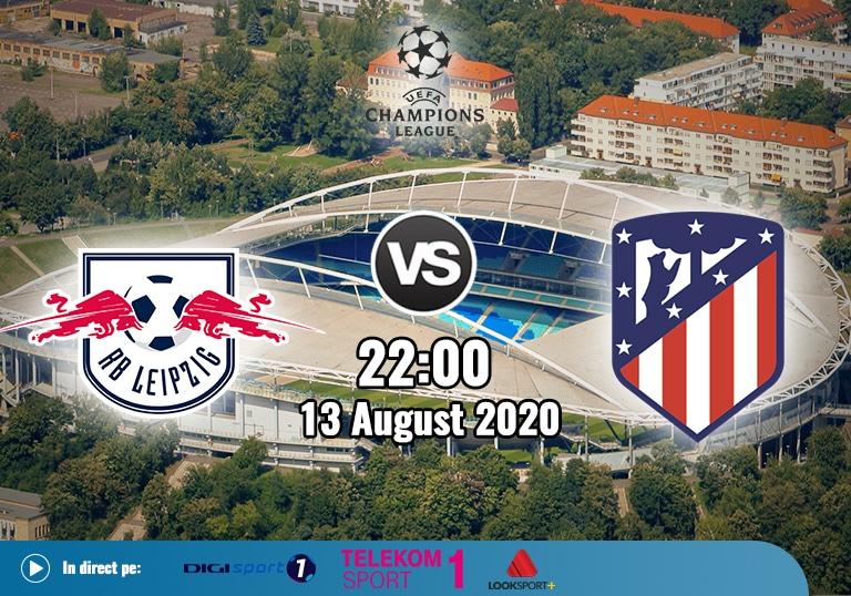 rb leipzig vs atletico, liga campionilor, 2020