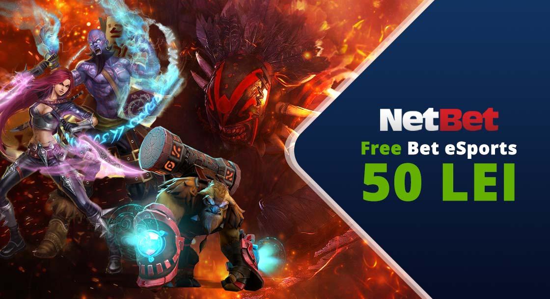 netbet free bet esports