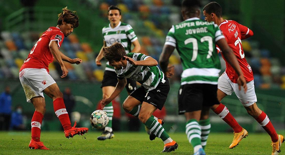 braga sporting , fotbal portugalia